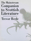 The Mainstream Companion to Scottish Literature (eBook)